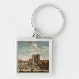 Altes Whitehall und der geheime Garten Schlüsselanhänger