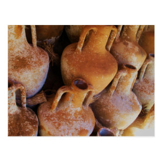 Altgriechische Amphoras Postkarte