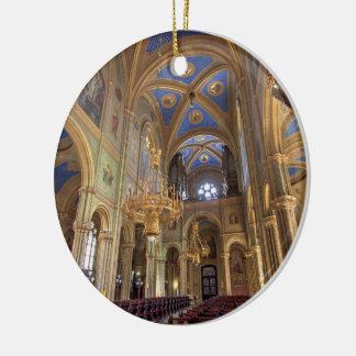 Altlerchenfelder Kirche Wien Österreich Rundes Keramik Ornament