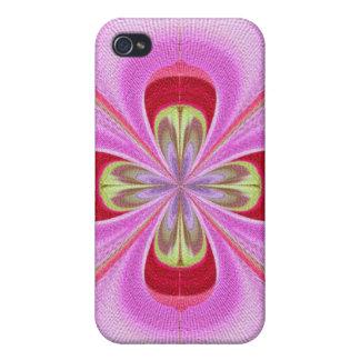 Altmodisch - GoodLuck Blumendruck Hülle Fürs iPhone 4