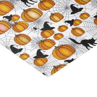 Altmodisches Halloween mit orange Kürbisen Seidenpapier