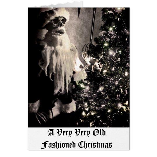 Altmodisches Weihnachten Karte