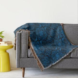 Aluminiumfolie-Entwurf im Blau Decke