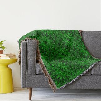Aluminiumfolie-Entwurf im Grün Decke