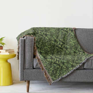 Aluminiumfolie-Entwurf im Moosgrün Decke