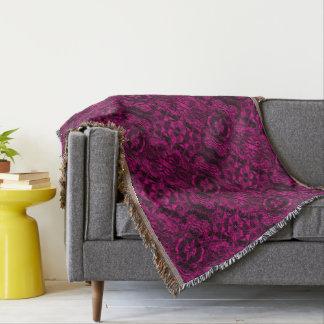 Aluminiumfolie-Entwurf im Rosa Decke