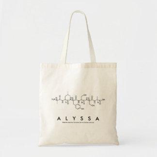 Alyssa Peptid-Namentasche Tragetasche
