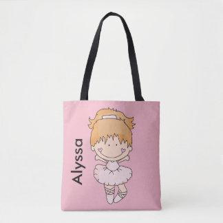 Alyssas personalisierte Ballett-Tasche Tasche