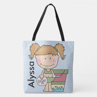 Alyssas personalisierte Strand-Tasche Tasche