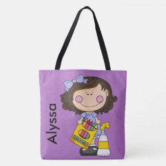 Alyssas Zeichenstift-personalisierte Tasche