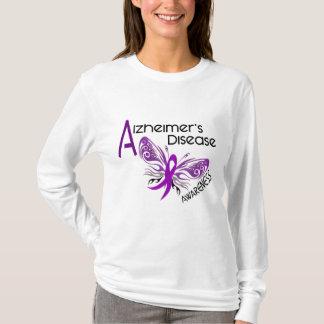 Alzheimerkrankheit SCHMETTERLING 3 Bewusstsein T-Shirt