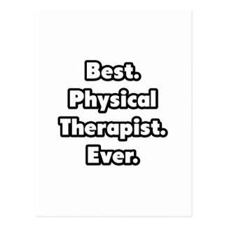 Am besten. Körperlicher Therapeut. Überhaupt Postkarte