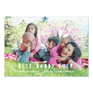 Am besten. Vati. Überhaupt. Der Vatertags-Karte - 12,7 X 17,8 Cm Einladungskarte