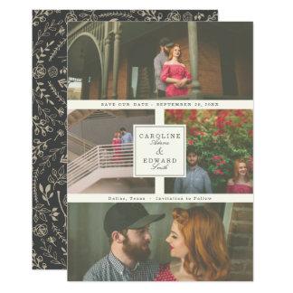 Am letzten Hochzeits-Foto Save the Date 12,7 X 17,8 Cm Einladungskarte