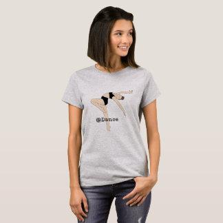 Am Shirt der Tanz-grauen Frauen