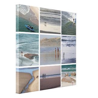Am Strand Gespannter Galeriedruck