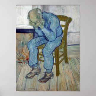 Am Tor der Ewigkeit durch Vincent van Gogh Poster
