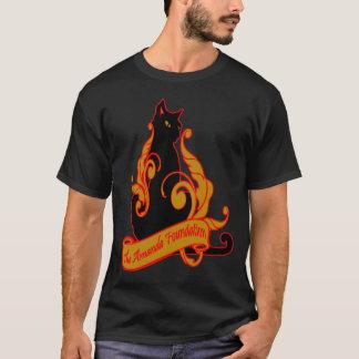 Amanda-Grundlagen-künstlerische Katze T-Shirt