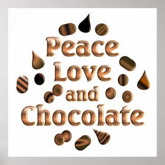 Amant de chocolat poster
