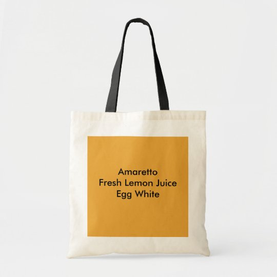 Amaretto Sour Tragetasche