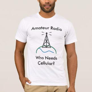 Amateurradio - wer zelluläres benötigt T-Shirt