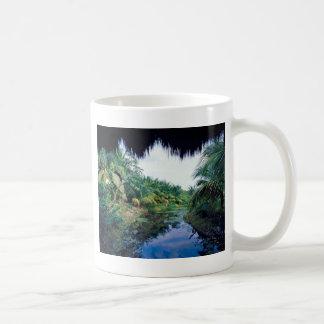 Amazonas-Dschungel-Fluss-Landschaft Kaffeetasse
