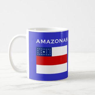 Amazonas Tasse, Brasilien/Caneca DAS Amazonas Kaffeetasse