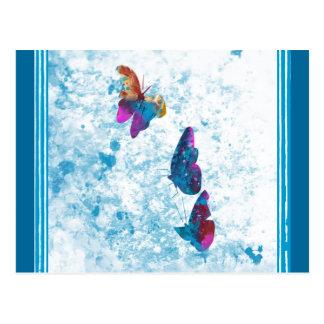 Amazonians Schmetterling Postkarte