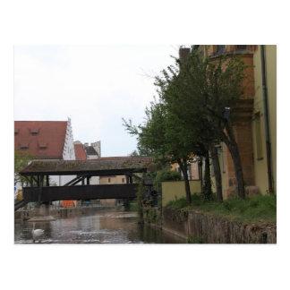 Amberg, Brücke über Fluss Vils Postkarten