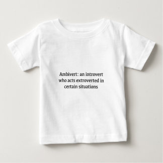 Ambivert Definition Baby T-shirt