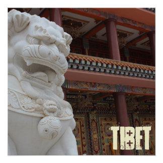 Amdo tibetanisches Kunst-Museum Poster