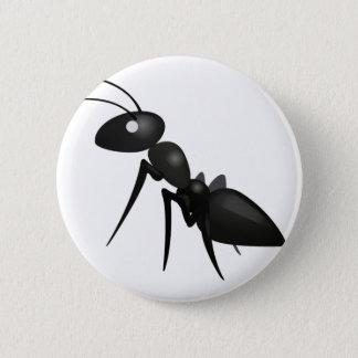 Ameise - Emoji Runder Button 5,7 Cm
