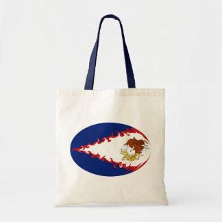 American Samoa Gnarly Flag Bag