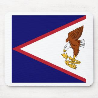American- Samoaflagge Mauspad