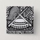 American- SamoaSiegel Quadratischer Button 5,1 Cm