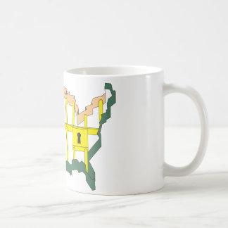 Amerika das Gefängnis Kaffeetasse