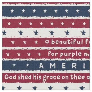 Amerika das schöne stoff