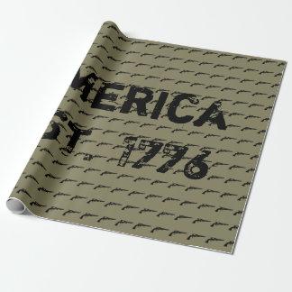 Amerika EST. 1776 Geschenkpapier