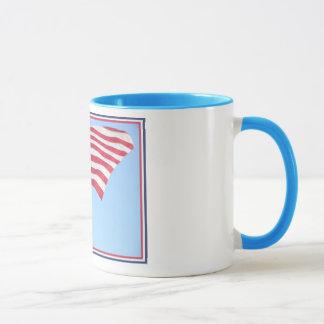 Amerika-Flagge Tasse