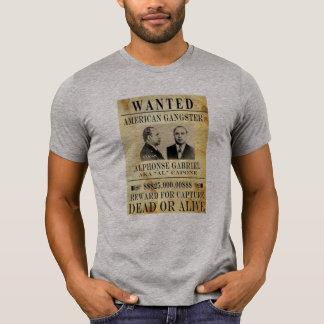 Amerika-Gangster fbi der meiste gewollte capone T T-Shirt