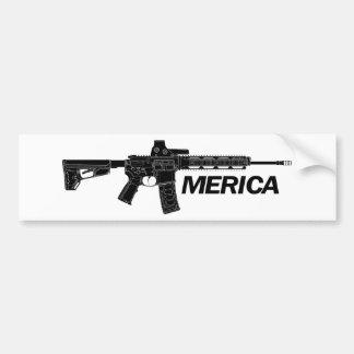 Amerika-Gewehr Autoaufkleber