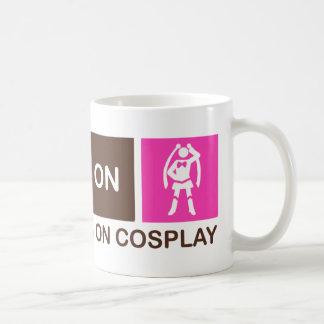 Amerika-Läufe auf Cosplay Kaffeetasse