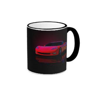 Amerika-Sport-Auto Ringer Tasse