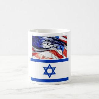 Amerika und Israel Kaffeetasse