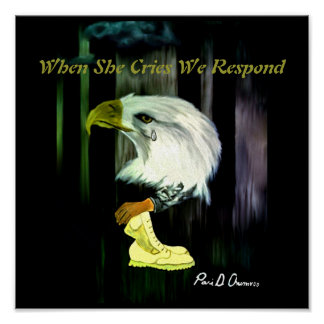 Amerikaner-Eagle-Schrei-Plakat