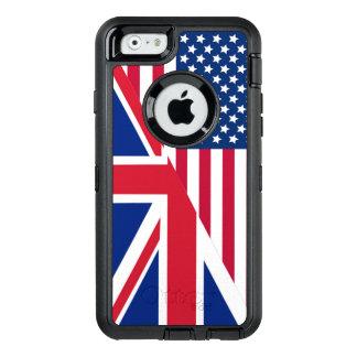 Amerikaner-und Gewerkschafts-Jack kennzeichnen OtterBox iPhone 6/6s Hülle