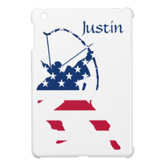 Amerikanische Bogenschützeflagge iPad Mini Hülle