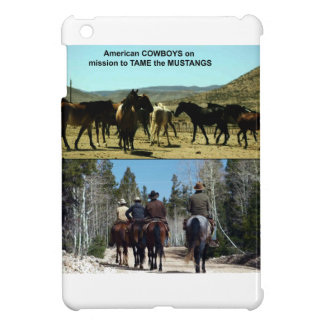 Amerikanische Cowboys auf Reise zu den iPad Mini Hülle