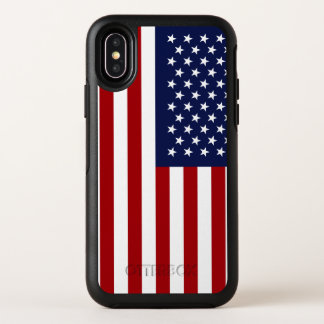 Amerikanische Flagge 2 OtterBox Symmetry iPhone X Hülle