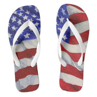 Amerikanische Flagge - drehen Sie Reinfälle um